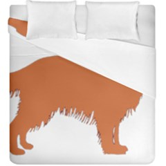 Irish Setter Silo Color Duvet Cover Double Side (king Size)