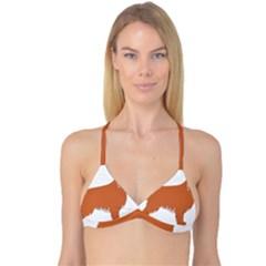 Irish Setter Silo Color Reversible Tri Bikini Top