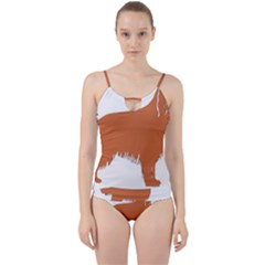 Irish Setter Silo Color Cut Out Top Tankini Set