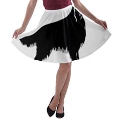 Irish Setter Silo A Line Skater Skirt