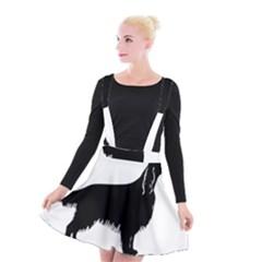 Irish Setter Silo Suspender Skater Skirt