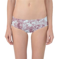 Pink Colored Flowers Classic Bikini Bottoms