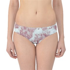 Pink Colored Flowers Hipster Bikini Bottoms