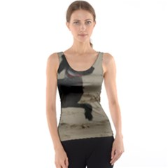 2 Chinese Crested Playing Tank Top
