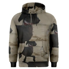 2 Chinese Crested Playing Men s Pullover Hoodie