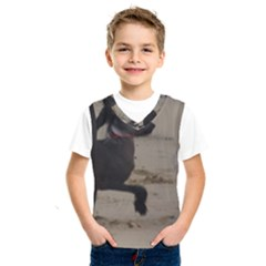 2 Chinese Crested Playing Kids  Sportswear