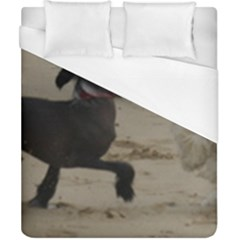 2 Chinese Crested Playing Duvet Cover (california King Size)