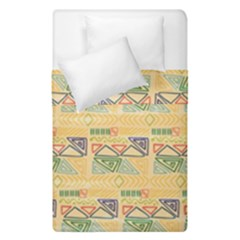 Hand Drawn Ethinc Pattern Background Duvet Cover Double Side (single Size)