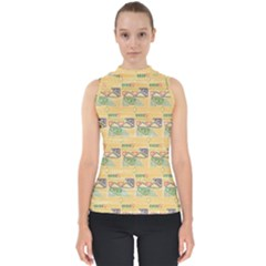 Hand Drawn Ethinc Pattern Background Shell Top