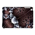 Lines Background Light Dark 81522 3840x2400 Apple iPad Mini Hardshell Case (Compatible with Smart Cover) View1