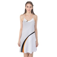 Gallery For  Abstract White Camis Nightgown