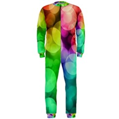 Abstraction Multicolored Glare  Onepiece Jumpsuit (men)