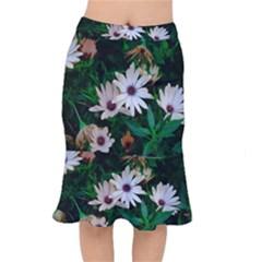 Garden Flowers Mermaid Skirt