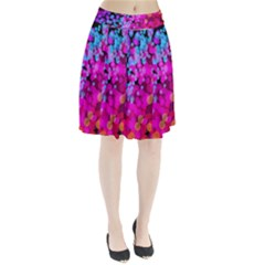 Colorful Community Glare Bright  Pleated Skirt