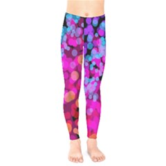 Colorful Community Glare Bright  Kids  Legging