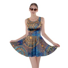 Abstract Pattern R 24 Resize Skater Dress