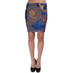 Abstract Pattern R 24 Resize Bodycon Skirt