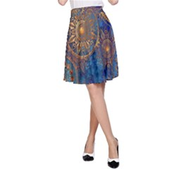 Abstract Pattern R 24 Resize A Line Skirt