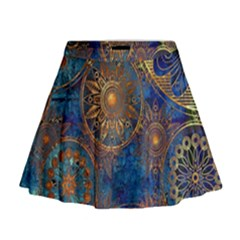 Abstract Pattern R 24 Resize Mini Flare Skirt