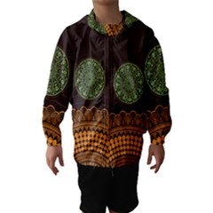Divination Planets Colorful Rotation Hooded Wind Breaker (kids)
