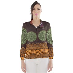 Divination Planets Colorful Rotation Wind Breaker (women)