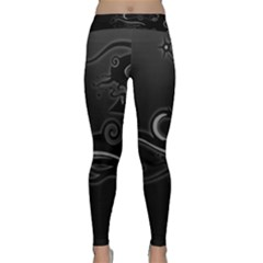 Lines Arrows Patterns Shadows  Classic Yoga Leggings