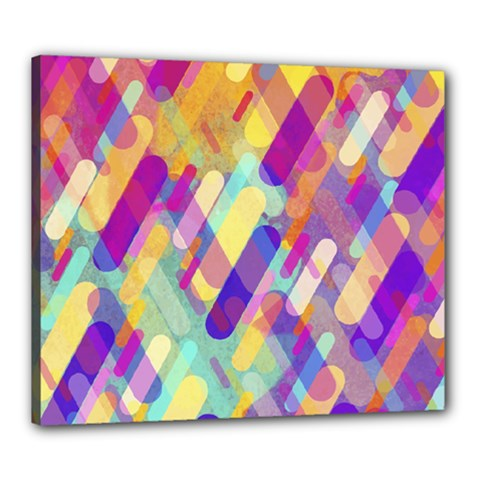 Colorful Abstract Background Canvas 24  X 20