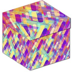 Colorful Abstract Background Storage Stool 12