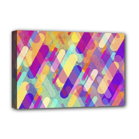 Colorful Abstract Background Deluxe Canvas 18  X 12