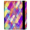 Colorful abstract background Apple iPad Mini Flip Case View2