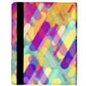 Colorful abstract background Apple iPad Mini Flip Case View3