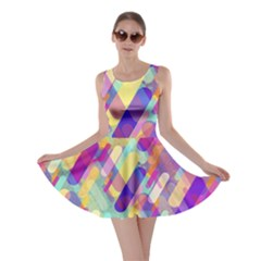 Colorful Abstract Background Skater Dress