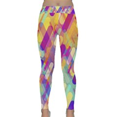 Colorful Abstract Background Classic Yoga Leggings