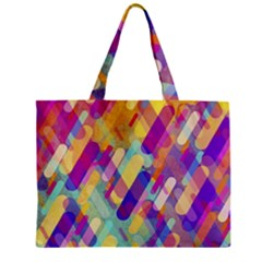 Colorful Abstract Background Zipper Mini Tote Bag