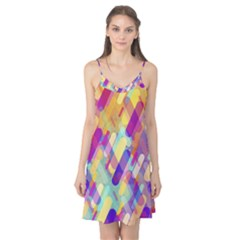 Colorful Abstract Background Camis Nightgown