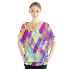 Colorful Abstract Background Blouse