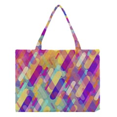 Colorful Abstract Background Medium Tote Bag