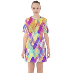 Colorful Abstract Background Mini Dress