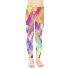 Colorful Abstract Background Kids  Legging