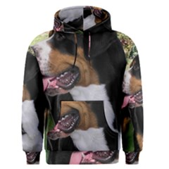Greater Swiss Mountain Dog Men s Pullover Hoodie