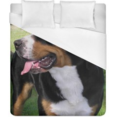 Greater Swiss Mountain Dog Duvet Cover (california King Size)