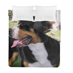 Greater Swiss Mountain Dog Duvet Cover Double Side (full/ Double Size)