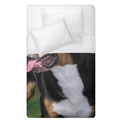 Greater Swiss Mountain Dog Duvet Cover (single Size)