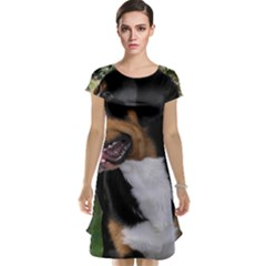 Greater Swiss Mountain Dog Cap Sleeve Nightdress