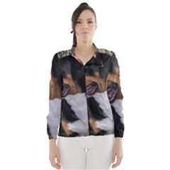 Greater Swiss Mountain Dog Wind Breaker (women)