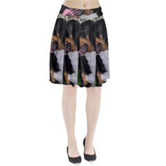 Greater Swiss Mountain Dog Pleated Skirt