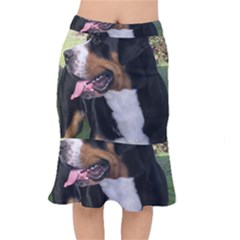 Greater Swiss Mountain Dog Mermaid Skirt