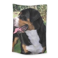Greater Swiss Mountain Dog Small Tapestry