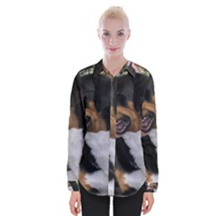 Greater Swiss Mountain Dog Womens Long Sleeve Shirt