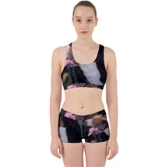 Greater Swiss Mountain Dog Work It Out Sports Bra Set